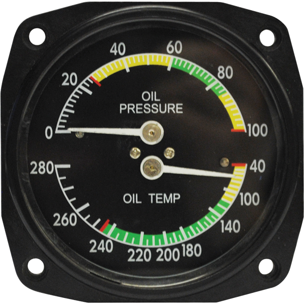 Oil Temp., Pressure Gauges