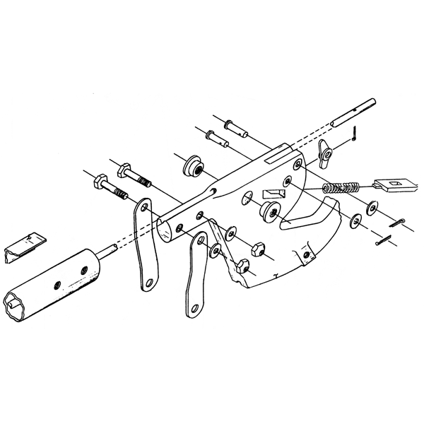 Flap Handle Components (4-1094)