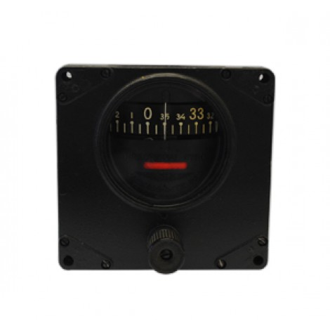 """4-1/2"""" Square Remanufactured Directional Gyro, FAA/TSO'd"""