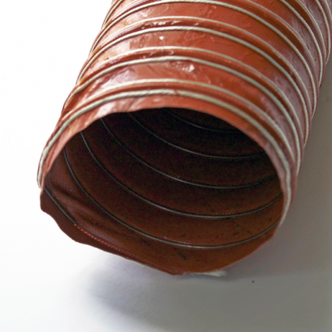 Aeroduct Scat Red Flexible Ducting