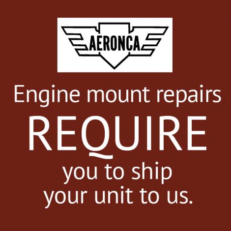Aeronca Prewar 65CA Engine Mount Repair