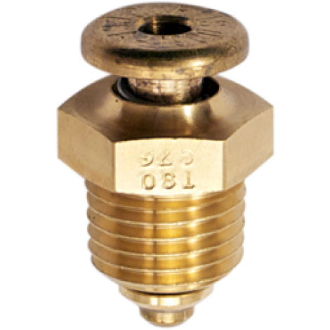 "CCA-1900 Push to Open Non-Locking Fuel Drain Valve 1/4"" NPT by Curtis, FAA Approved"
