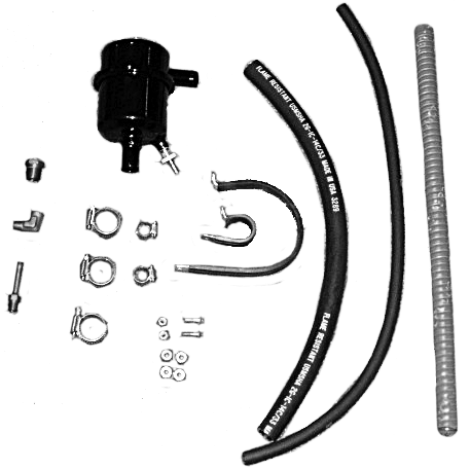 """.75"""" Inlet MiniSep Air/Oil Separator Kit by Airwolf, FAA Approved STC'd"""