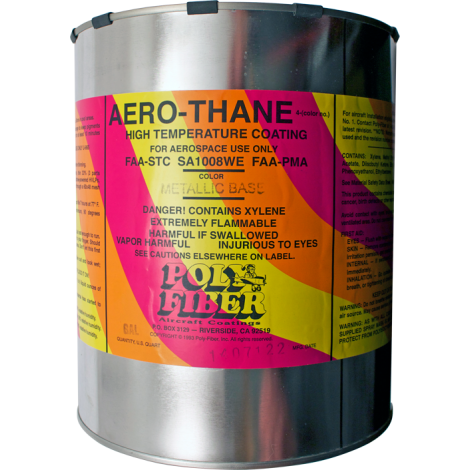 Aero-Thane Finish - Metallic Colors, gallon, FAA Approved