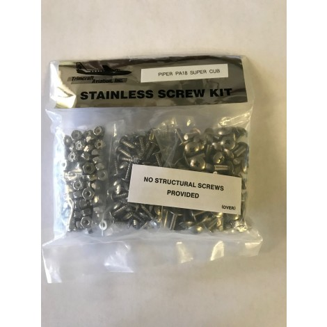 Stainless Steel Screw Kit - PA-18
