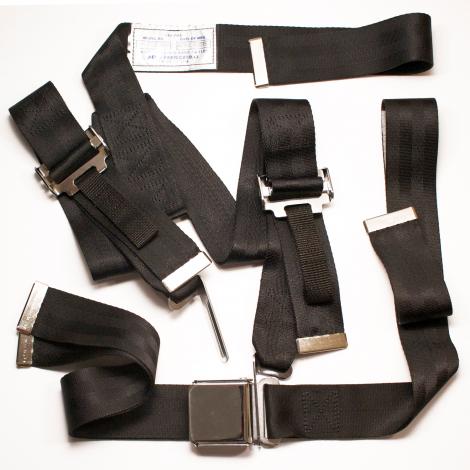 Aeronca Seat Belt, Harness Kit, front