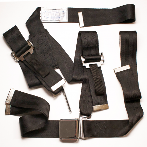 Beech Seat Belt, Harness Kit, co-pilot