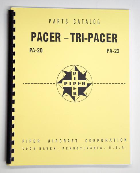 Piper PA-20/22 Parts Manual