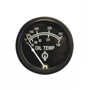 """2 1/16"""" Oil Temperature Gauge by Rochester, 5 ft. capillary"""