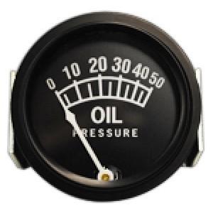 """2-1/16"""" Oil Pressure Gauge 0-50 PSI, Non-TSO'd"""