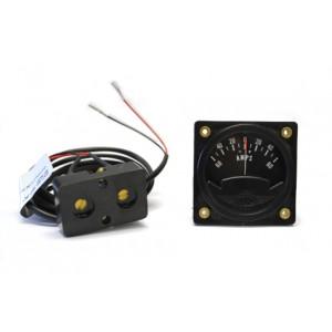 "2-1/4"" 12-Volt Ammeter Kit"