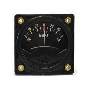 """2-1/4"""" 12 Volt Ammeter (Gauge Only)"""