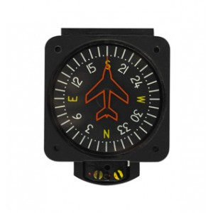 "2"" Vertical Card Compass 14 Volt, Non-TSO'd"