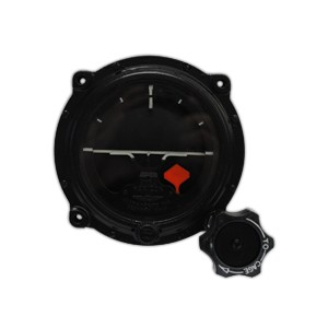 "3-5/8"" Remanufactured Gyro Horizon, FAA/TSO'd"