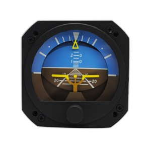 """3-1/8"""" New Gyro Horizon, FAA/TSO'd"""