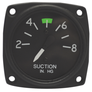 "2-1/4"" Suction Gyro Gauge, Non-FAA/PMA Approved"