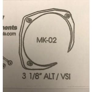 "3-1/8"" Alt/VSI Nut Ring, FAA/PMA'd"