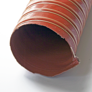 Aeroduct Screet Red Flexible Ducting