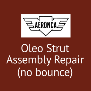 Aeronca Oleo Strut Assembly Repair (no bounce) P/N 3-665, FAA Approved