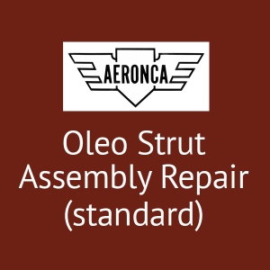 Aeronca Oleo Strut Assembly Repair (standard) P/N 3-433, FAA Approved