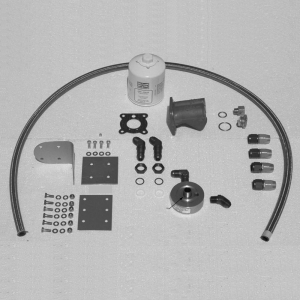 Universal Lycoming Homebuilt Remote Mount Oil Filter Kit, FAA/PMA'd