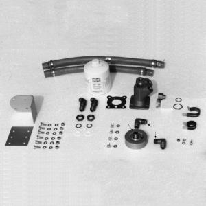 Super Cub Lycoming Remote Oil Filter Kit, STC'd