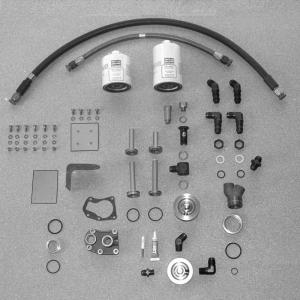 Universal Continental Remote Oil Filter Kit, FAA/PMA'd/STC'd