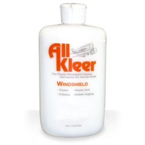 All Kleer Windshield Cleaner/Polish