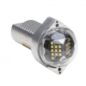 Orion 500 LED Tail PTA Light White,12V by Whelen, FAA/TSO'd