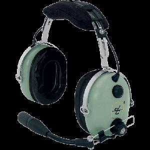 Lightweight Model H10-60 Headset by David Clark, FAA/TSO'd