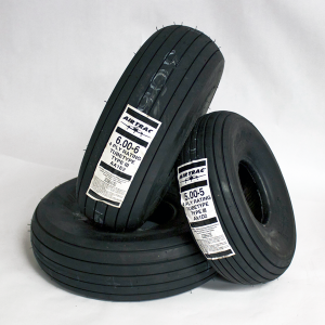 Air Trac 6.00x6 4-ply/5.00x5 4-ply Tire Kit, FAA/PMA'd