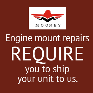 Mooney M20B, C Engine Mount Repair