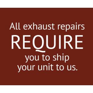 Bellanca Exhaust RH Tailpipe Repair, P/N 191927-1