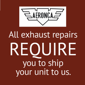 Aeronca Muffler Repair, FAA Approved