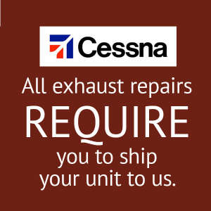 Cessna Muffler Repair, FAA Approved