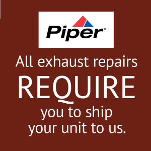 Piper Exhaust Stack, Collector Repair, FAA Approved