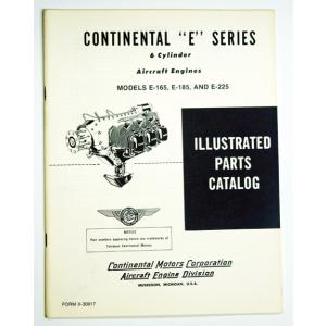 Continental E-165, E-185, E-225 Parts Catalog