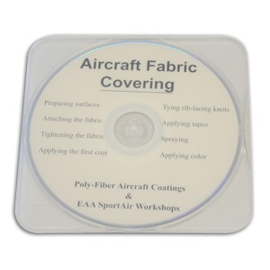 EAA SportAir Workshop's Aircraft Fabric Covering DVD