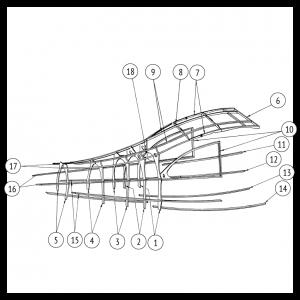 Fuselage Fairing, 7GC, 7GCA, 7GCB, 7HC