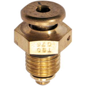 CCA-2100 Push to Open Non-Locking Fuel Drain Valve 7/16-20UNF by Curtis, FAA Approved
