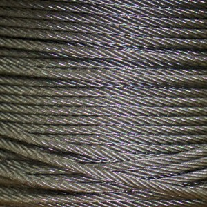 Galvanized Aircraft Cable SOLD PER FOOT