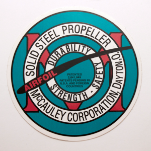 McCauley Propeller Decals, McCauley Steel Stearman