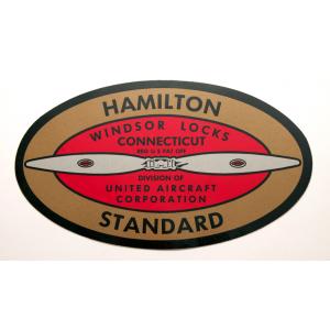 Hamilton Standard Propeller Decals