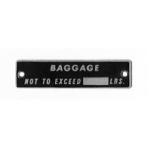 Baggage Placard