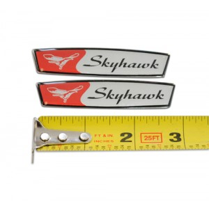 Cessna Yoke Emblems, Skyhawk (Set of 2)