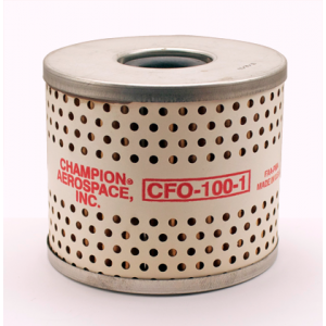 Spin-On Oil Filter CFO100-1 by Champion, FAA Approved