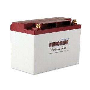 RG-35AXC Concorde Recombinant Gas Sealed Battery, FAA/PMA'd