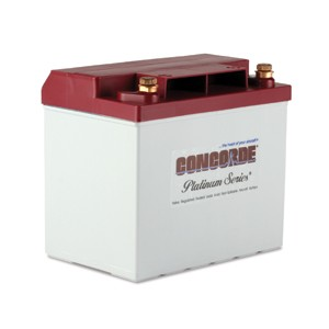 RG-25XC Concorde Recombinant Gas Sealed Battery, FAA/PMA'd