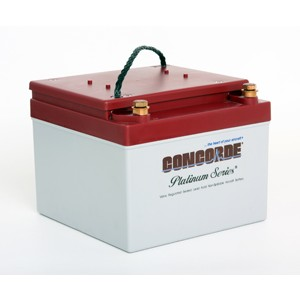 RG-24-15 Concorde Recombinant Gas (RG) Sealed Battery, FAA/PMA'd