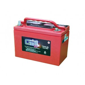 12 V Gill 7035-28 Sealed Battery, FAA/PMA'd